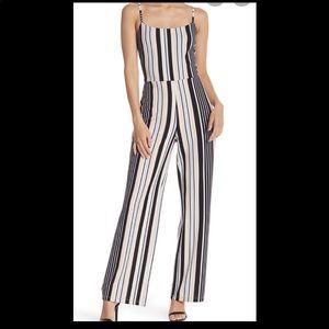 Material Girl Stripe Sleeveless Jumpsuit